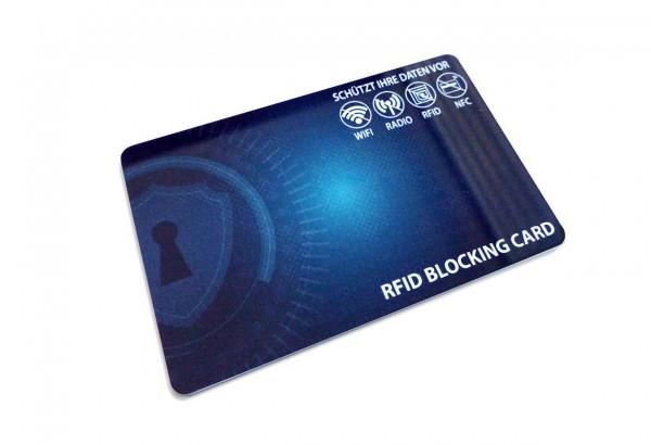 RFID Blocker-Karte