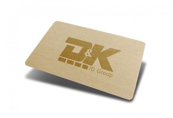 Holz-Ausweiskarte
