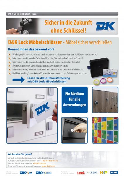 Produktblatt D&K Möbelschlösser