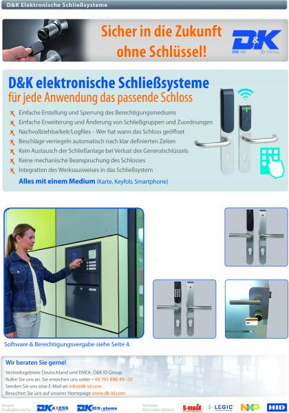 Flyer D&K Schließsysteme
