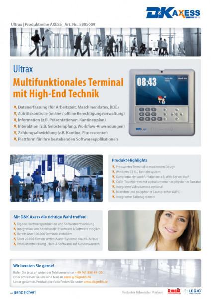 Datenblatt Ultrax