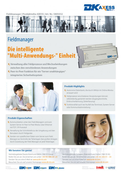 Datenblatt Fieldmanager