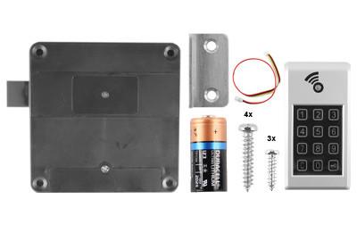 D&K Lock X41 Spindverschluss Pincode + RFID