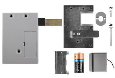 D&K Lock X03 Blechtürverschluss mit Auswerfer