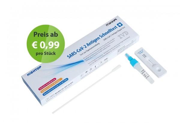 Covid-19 Antigen Schnelltest - Eigenanwendung