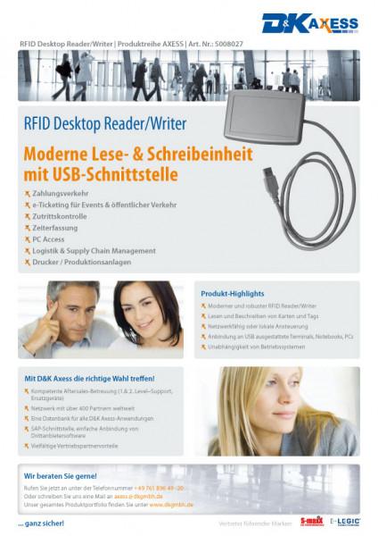 Datenblatt RFID-Desktopreader