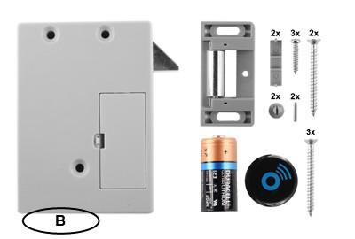 D&K Lock 15 Schubladenschloss