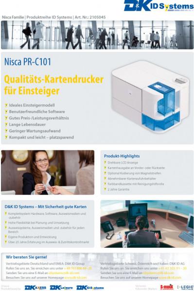 Datenblatt Nisca PR-C101