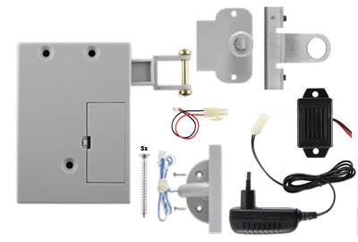 D&K Lock X11 Vitrinenschloss mit Alarm
