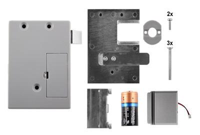 D&K Lock 02 Blechtürverschluss mit Auswerfer