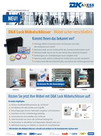 Datenblatt D&K Lock Möbelschlösser