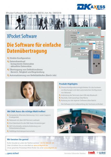 Datenblatt XPocket Software