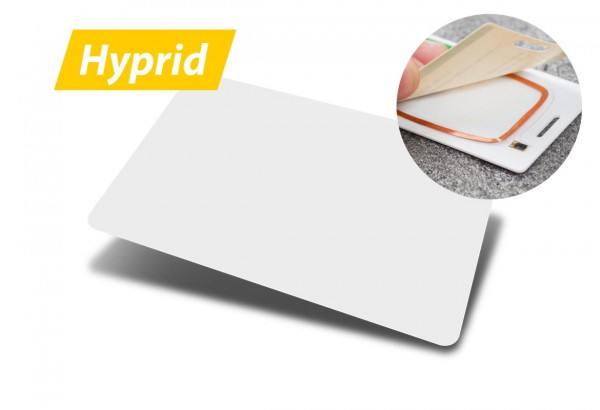 Hybrid-RFID-Ausweiskarten