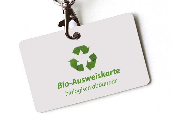 Bio-Ausweiskarte